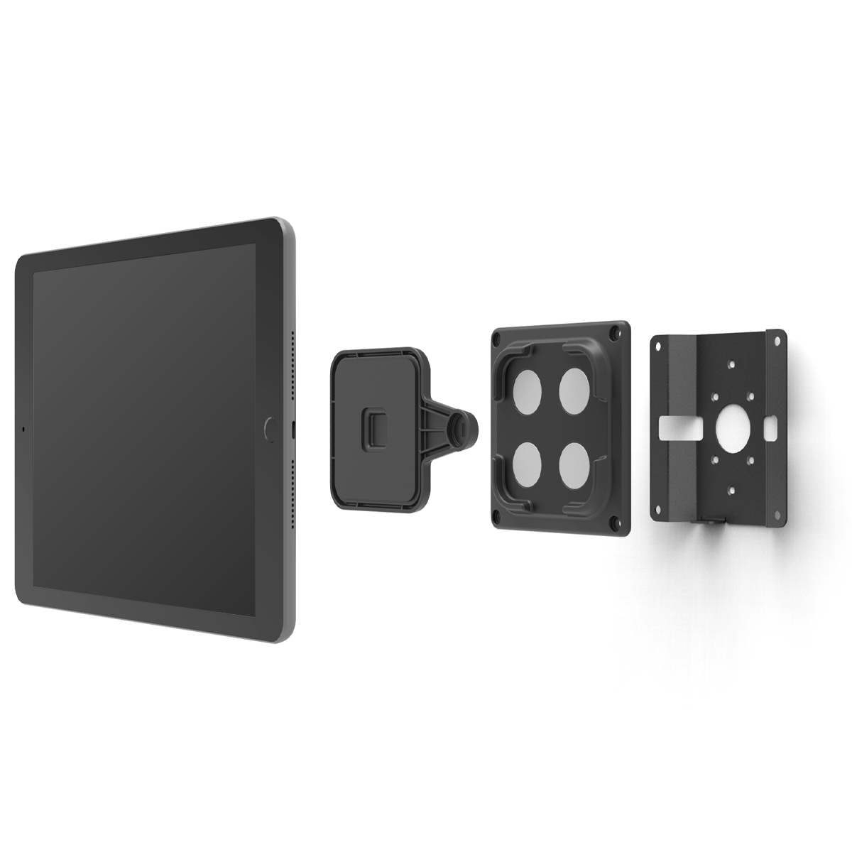 Universal tablet wall mount