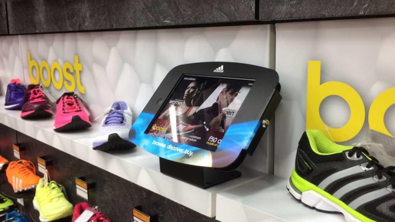 Space iPad Enclosure Kiosk